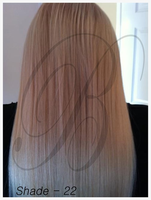 Shade 22 Hair Extensions