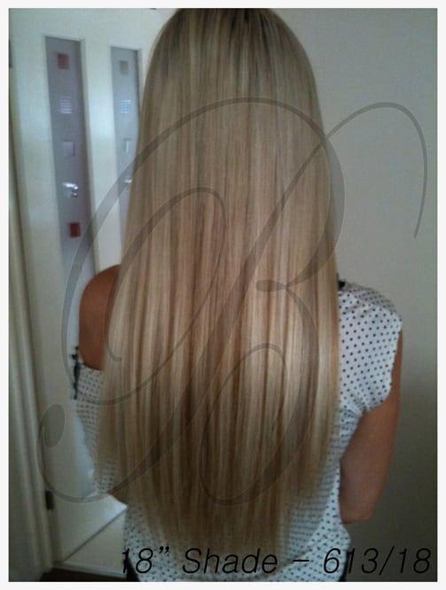 Shade 613,18  Hair Extensions