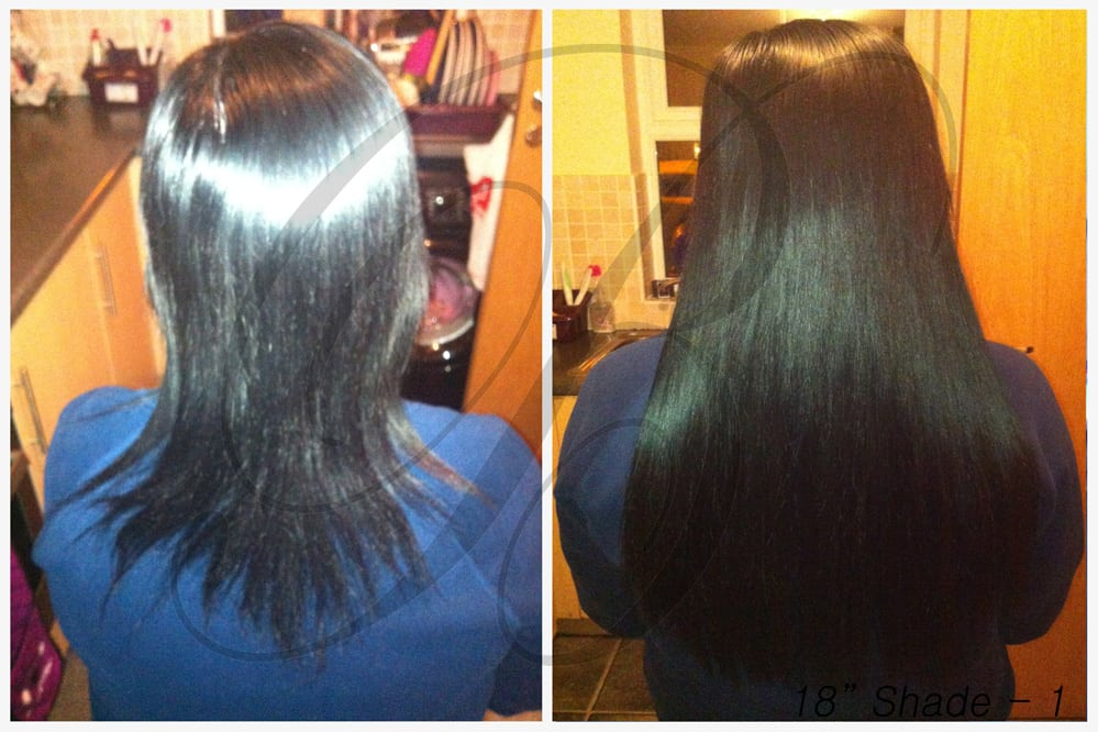 Shade 1 Hair Extensions