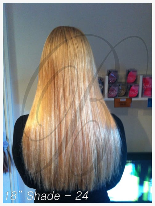 Shade 24 Hair Extensions