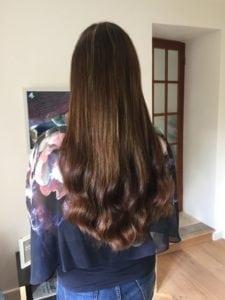 """18"""" European hair extensions"""