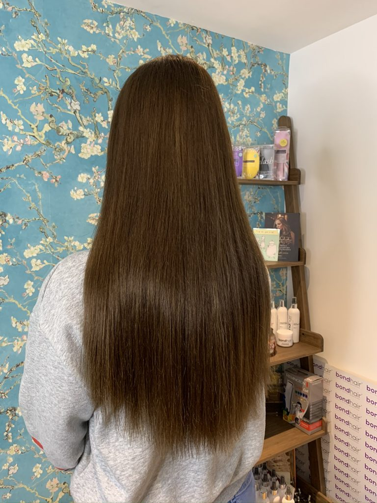 Brown indian remy hair extensions