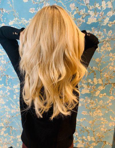 Blonde European Hair Extensions