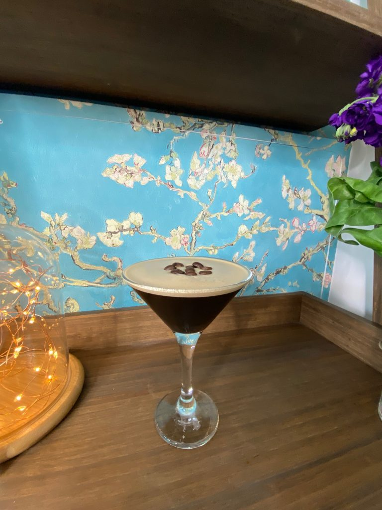 Espresso Martini Cocktail from The Occasion Bar Northamptonshire